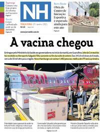 Capa do jornal Jornal NH 19/01/2021