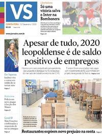 Capa do jornal Jornal VS 03/12/2020