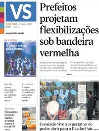 Capa do jornal Jornal VS 04/08/2020