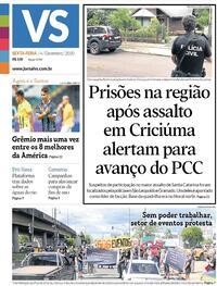 Capa do jornal Jornal VS 04/12/2020
