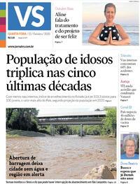 Capa do jornal Jornal VS 21/10/2020