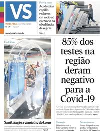 Capa do jornal Jornal VS 26/05/2020