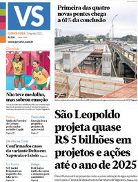 Capa do jornal Jornal VS 05/08/2021