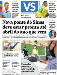 Capa do jornal Jornal VS 15/10/2021
