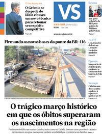 Capa do jornal Jornal VS 16/04/2021