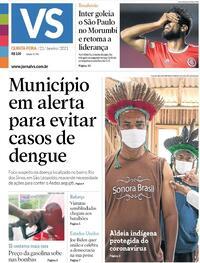 Capa do jornal Jornal VS 21/01/2021
