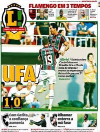 Capa Jornal Lance - Rio de Janeiro