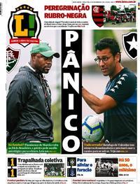 Capa Lance - Rio de Janeiro 2019-11-19