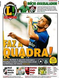 Capa Jornal Lance - Rio de Janeiro 25/05/2019