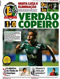 Capa Lance - São Paulo 2018-08-17
