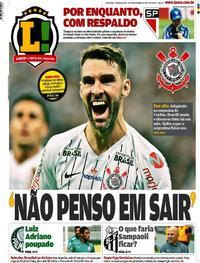 Capa Lance - São Paulo 2019-11-14