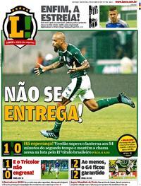 Capa Lance - São Paulo 2019-10-17