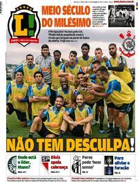 Capa Lance - São Paulo 2019-11-19