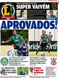 Capa Lance - São Paulo 2020-01-20
