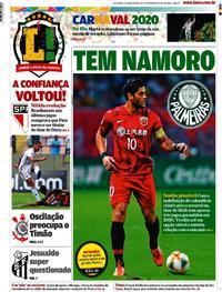 Capa Lance - São Paulo 2020-02-24