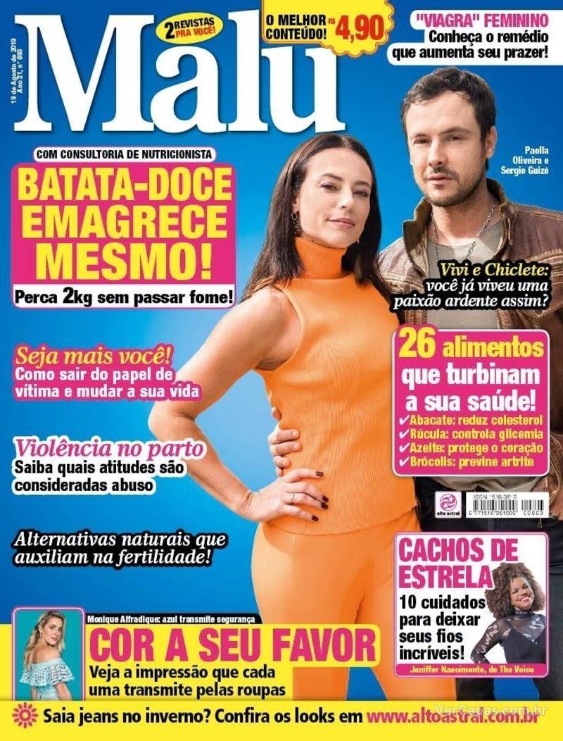 Capa revista Malu 14/08/2019