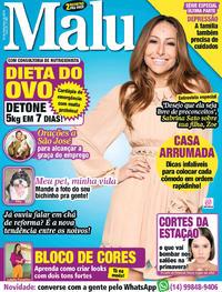 Capa Revista Malu