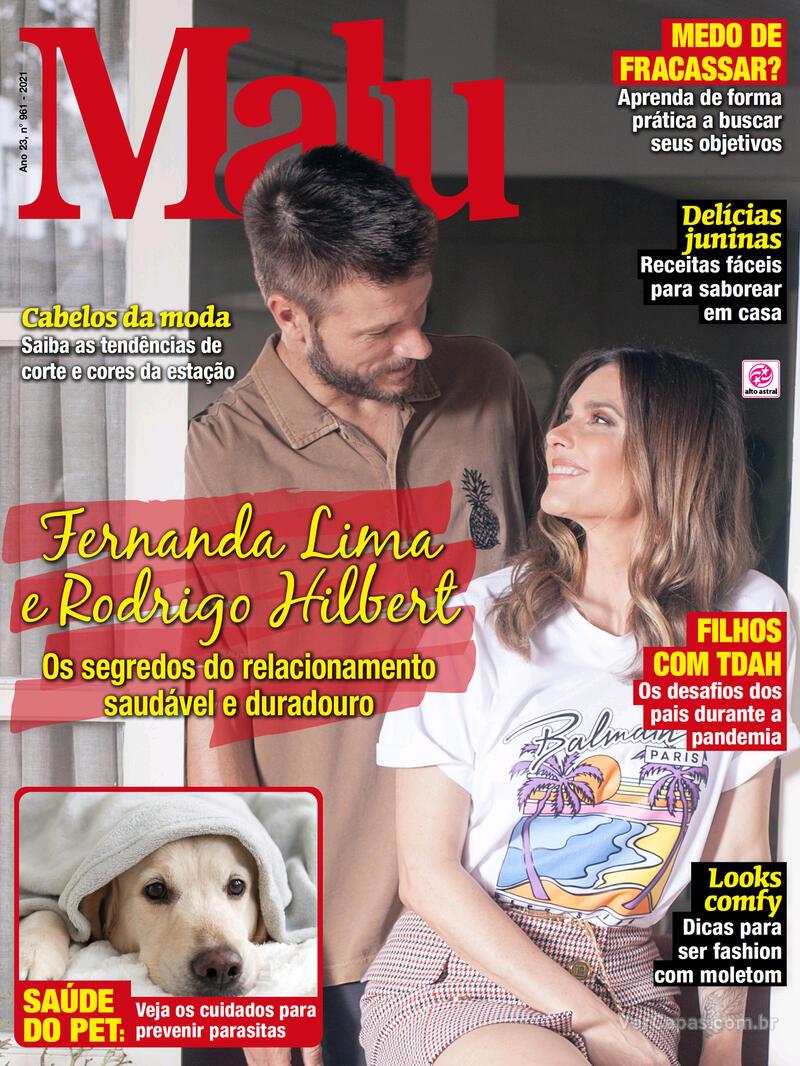 Capa da revista Malu 09/06/2021