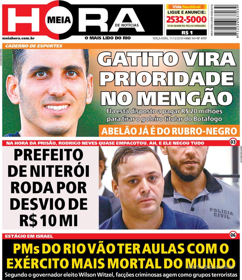 Capa Meia Hora 2018-12-11
