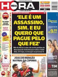 Capa Meia Hora 2018-01-23
