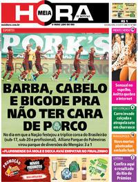 Capa do jornal Meia Hora 02/12/2019