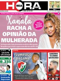 Capa do jornal Meia Hora 03/12/2019