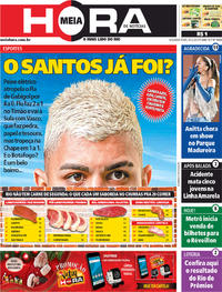 Capa do jornal Meia Hora 09/12/2019