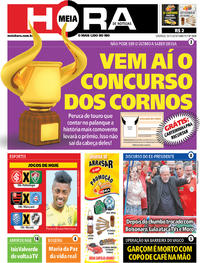 Capa do jornal Meia Hora 10/11/2019