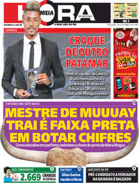Capa do jornal Meia Hora 10/12/2019