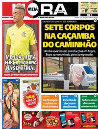 Capa do jornal Meia Hora 16/12/2019