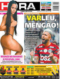 Capa Jornal Meia Hora