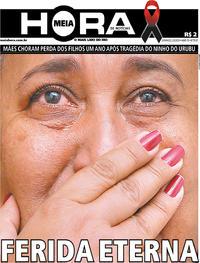 Capa do jornal Meia Hora 02/02/2020