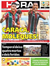 Capa do jornal Meia Hora 02/03/2020