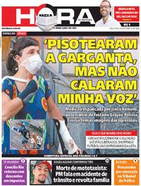 Capa do jornal Meia Hora 02/06/2020