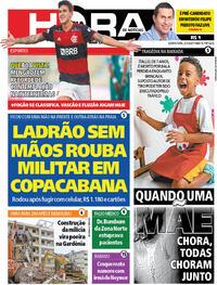 Capa do jornal Meia Hora 02/07/2020