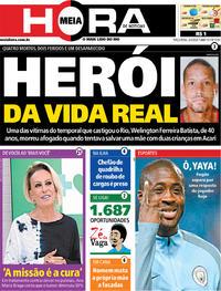 Capa do jornal Meia Hora 03/03/2020