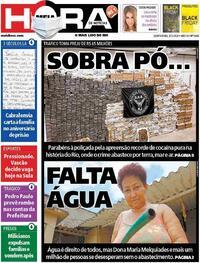 Capa do jornal Meia Hora 03/12/2020