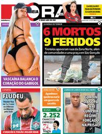 Capa do jornal Meia Hora 05/02/2020