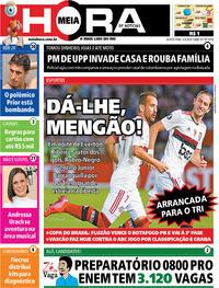 Capa do jornal Meia Hora 05/03/2020