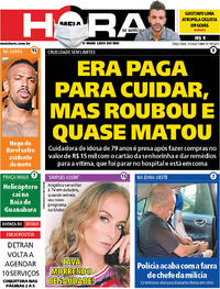 Capa do jornal Meia Hora 07/07/2020
