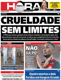 Capa do jornal Meia Hora 09/06/2020
