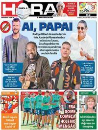 Capa do jornal Meia Hora 09/08/2020