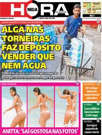 Capa do jornal Meia Hora 10/01/2020