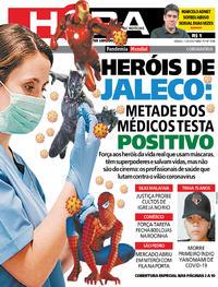 Capa do jornal Meia Hora 11/04/2020