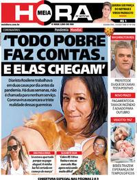 Capa do jornal Meia Hora 13/04/2020