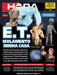 Capa do jornal Meia Hora 14/05/2020
