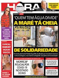 Capa do jornal Meia Hora 16/06/2020