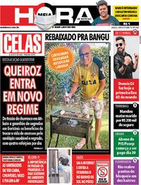 Capa do jornal Meia Hora 20/06/2020