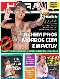 Capa do jornal Meia Hora 21/06/2020