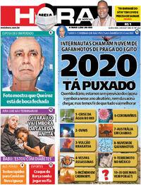 Capa do jornal Meia Hora 24/06/2020